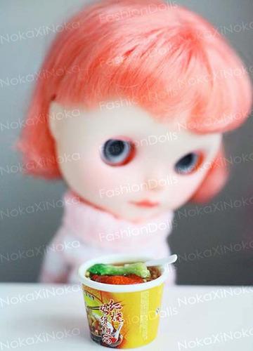 comida japonesa p/ barbie * blythe pullip * re ment (1 peça)