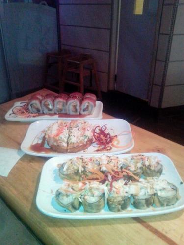 comida japonesa para fiestas y eventos