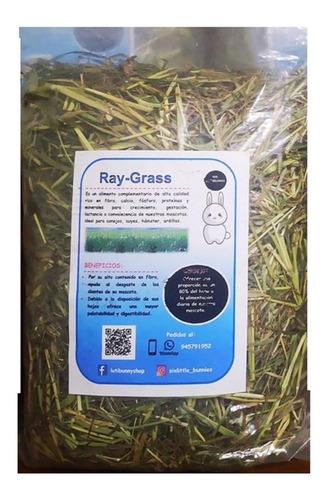 comida para conejos mr luti bunny heno de raygrass bolsa 1kg