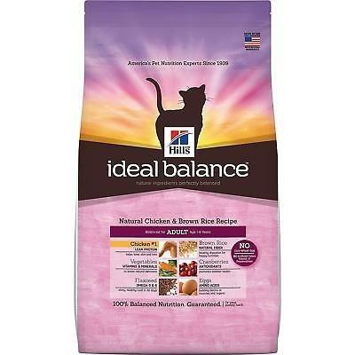 comida para gatos natural hill's ideal balance pollo adulto
