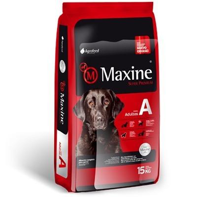 comida para perro adulto maxine con tacho de regalo 15 kilos