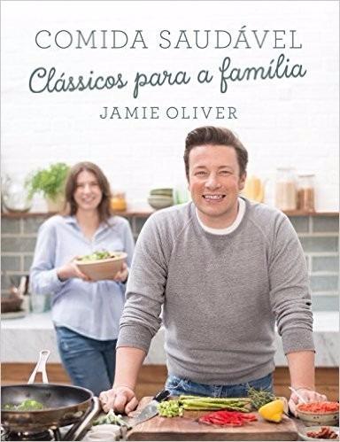 comida saudável livro capa dura  por jamie oliver