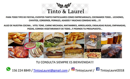 comidas caseras, pizzas party, perniles, eventos, fiestas.