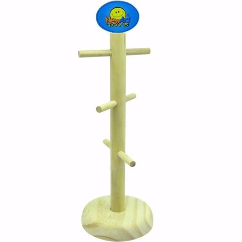 comidinhas, expositor de salsicha - brinquedo de madeira