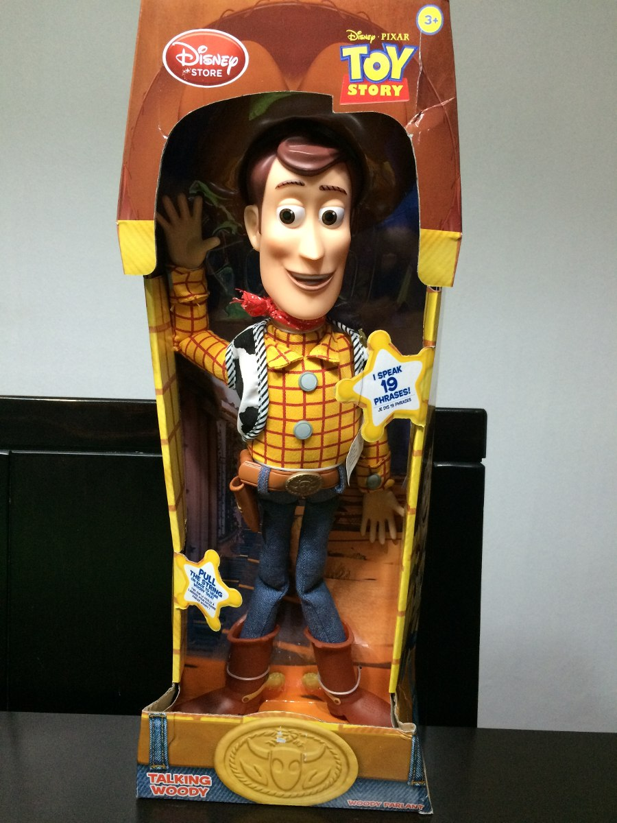 3a225347fe97e Comisario Woody - Habla En Ingles - Toy Story -   45.000 en Mercado ...