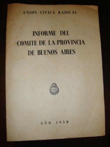 comite de la provincia de buenos aires union civica radical