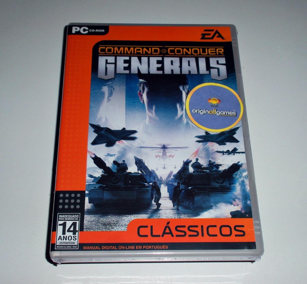 command   conquer generals   pc mídia física original lacrad. Carregando  zoom. d89c106c2a