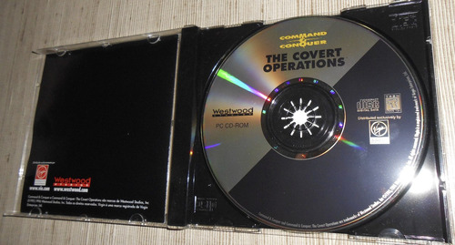 command & conquer the covert operations original c/ manual