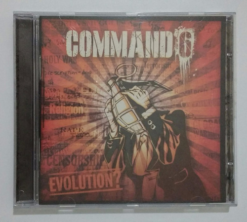 command6 evolution cd