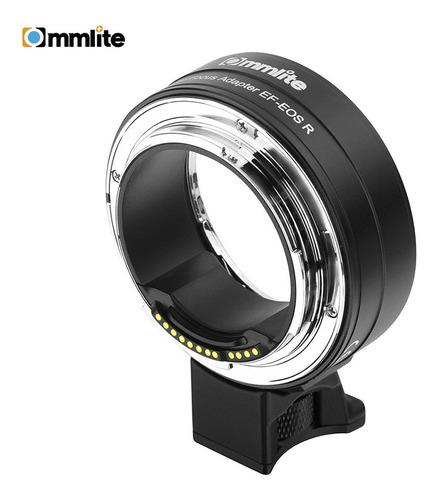 commlite cm-ef-eos r - adaptador de montura de objetivo elec