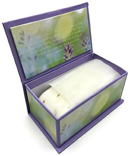commonwealth tea tree - lavender single soap bar 11 oz.