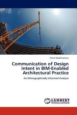 communication of design intent in bim-enabled a envío gratis