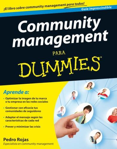 community management para dummies(libro formación)