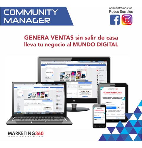 community manager: facebook-instagram