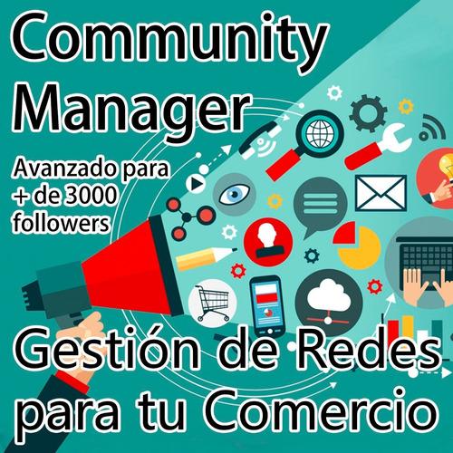 community manager - gestión de redes para comercio