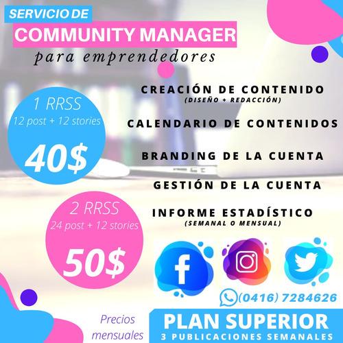 community manager-gestor de redes sociales