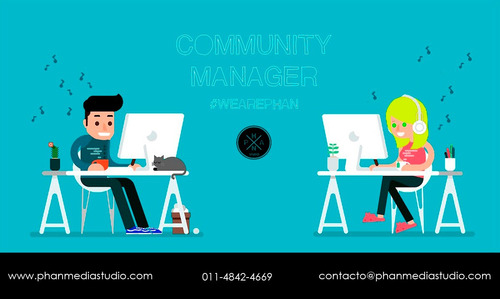 community manager - marketing digital - social media.