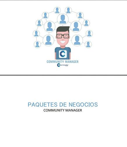 community manager o manejo de redes sociales