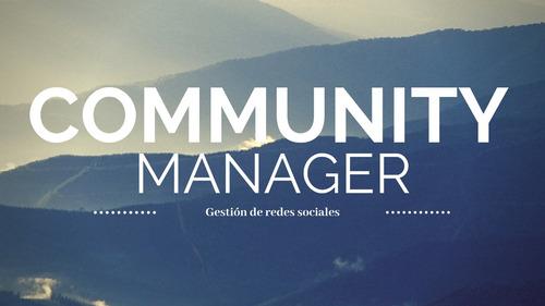 community manager y servicios de marketing digital