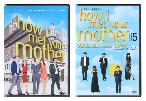como conoci tu madre  how i met your mother serie 1 - 9 dvd