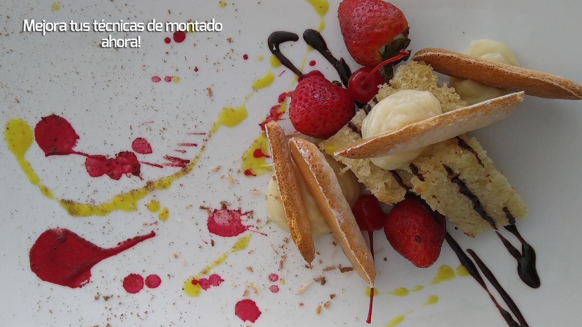 Como decorar tus platillos y postres 24 clases de cocina - Temario fp cocina y gastronomia ...