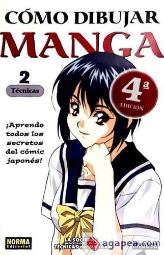 como dibujar manga 2 tecnicas rtca(libro )