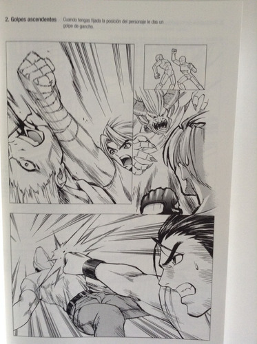 cómo dibujar manga: artes marciales o ilustrar combates