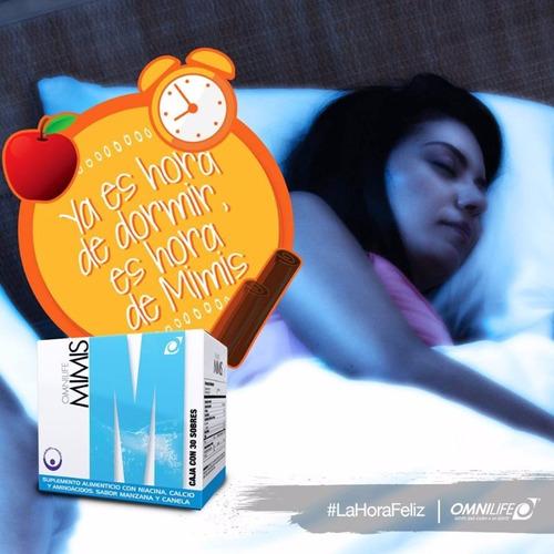 como dormir mejor mimis omnilife para conciliar el sueño