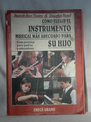 como elegir el instrumento musical