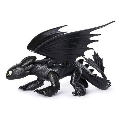 como entrenar a tú dragón 3 - chimuelo - dragón articulado