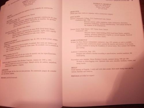 cómo escribir un cv en inglés que tenga éxito