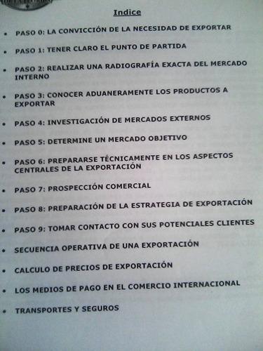 como exportar con exito. seminario internacional. frediani