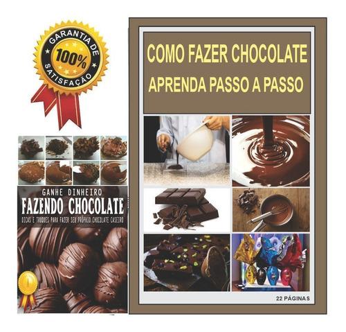 como fazer chocolate aprenda passo a passo