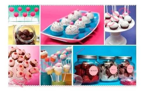 cómo hacer cake pops, paletas rellenas, cupcakes, fondant!