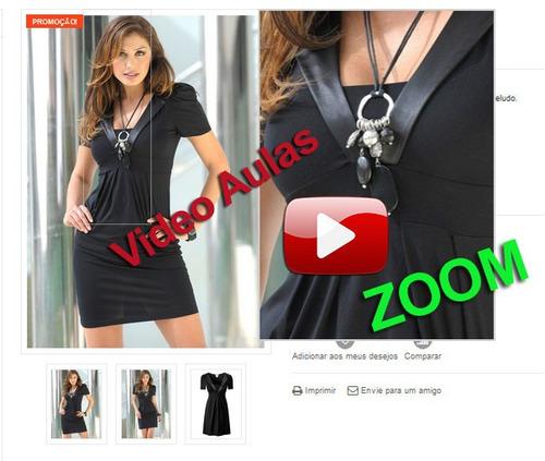 como montar uma loja virtual roupas p/ bebes c/ videoaulas