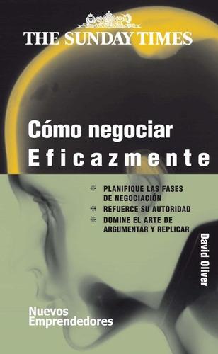 cómo negociar eficazmente, oliver, ed. gedisa