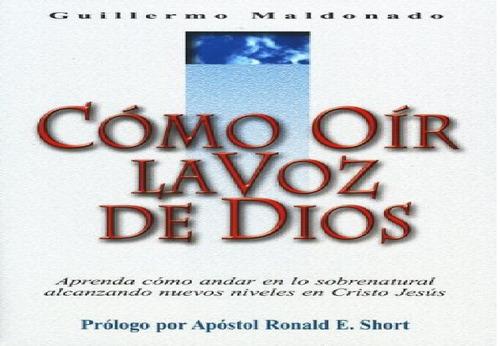 como oir la voz de dios (pdf)