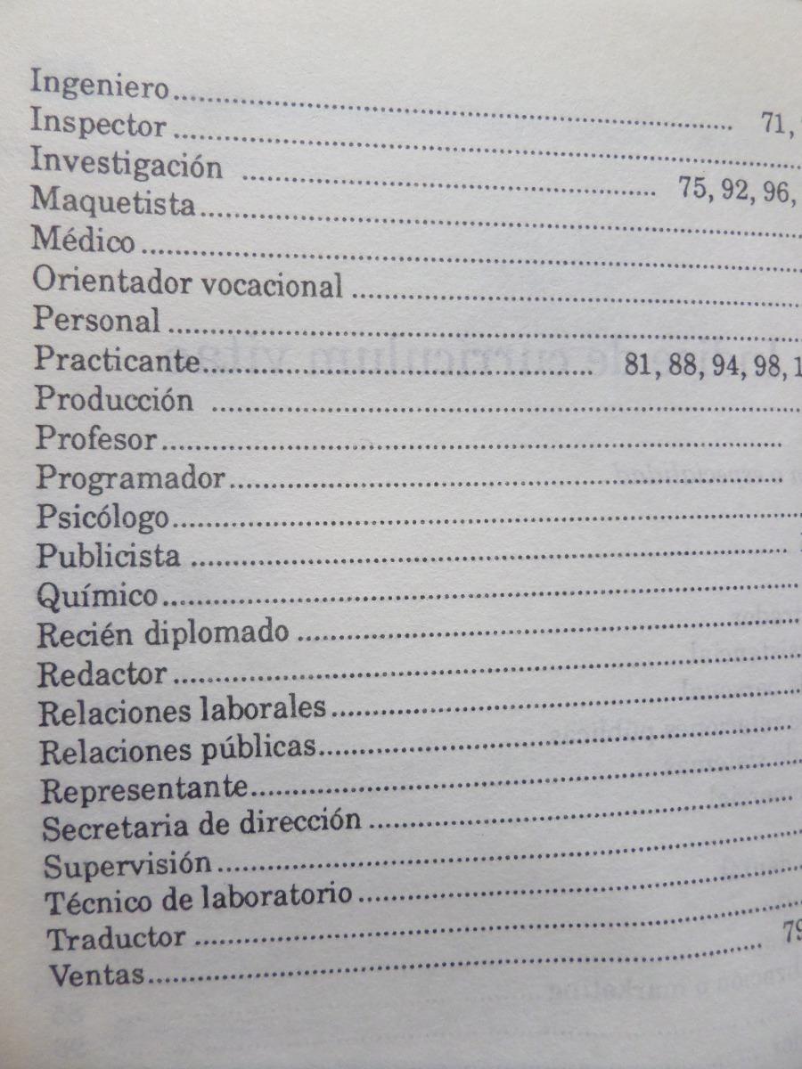 Como Redactar Nuestro Curriculum Vitae, J Brazeau,1996 - $ 195,00 en ...