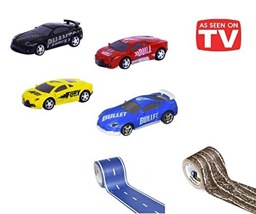 como se ve en la tv rc pocket racers vehículo de carrera de