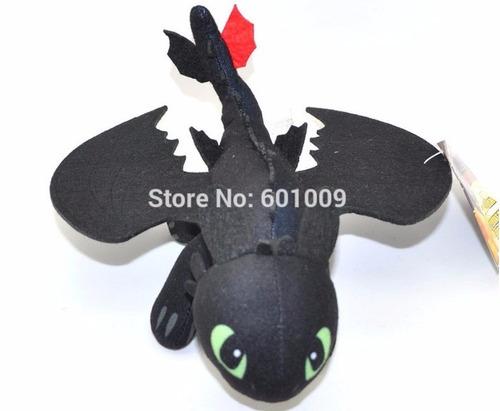 como treinar seu dragão pelúcia - banguela - pronta entrega*