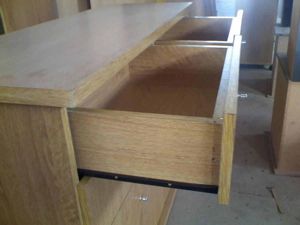 Comoda 8 Caj Regrueso Melamina Diyant Directo Fabrica 6 129 05  # Muebles Diyant Caseros