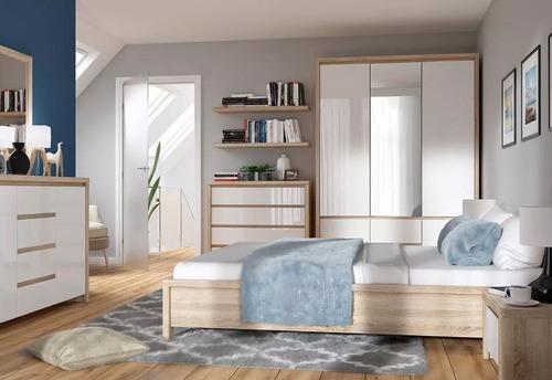 cómoda alta tugow cajonera de madera elegante gran calidad