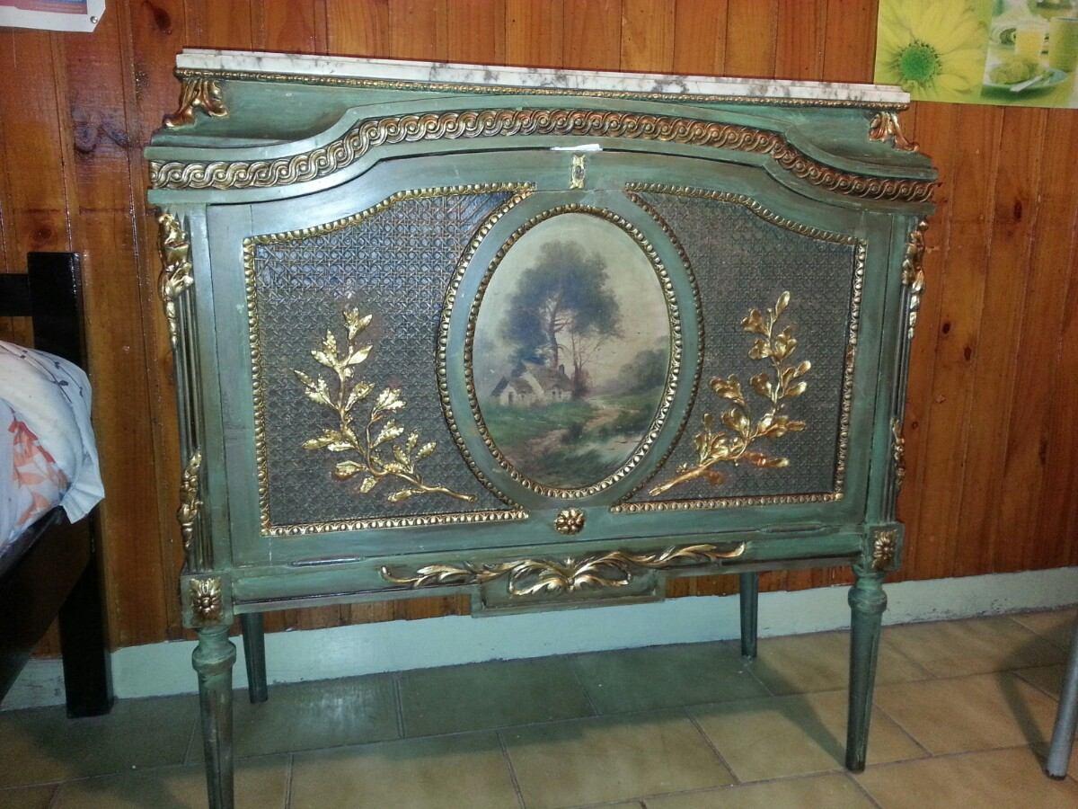 Mueble Comoda Antiguo Musiquero Bargue O 19 000 00 En Mercado  # Muebles Musiqueros Antiguos
