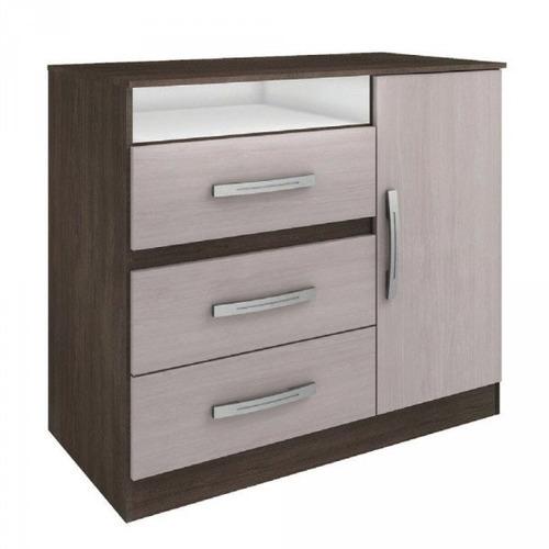 comoda - cajonera - 3 cajones - dormitorio - mueble - lcm