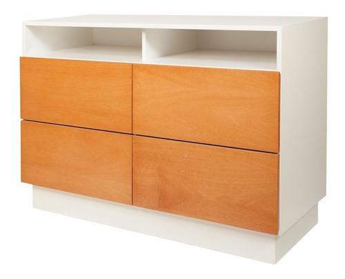 comoda cajonera de madera laqueada muebles dormitorio