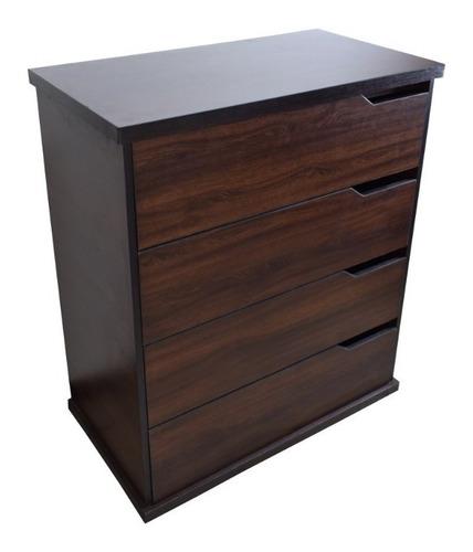 cómoda cajonera estilo moderno de madera