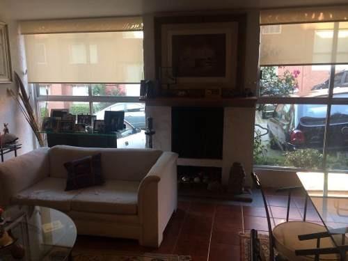comoda casa en ch con chimenea y terraza