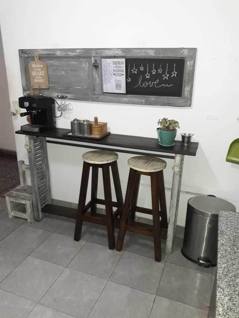 cómoda casa reciclada - 4 ambientes
