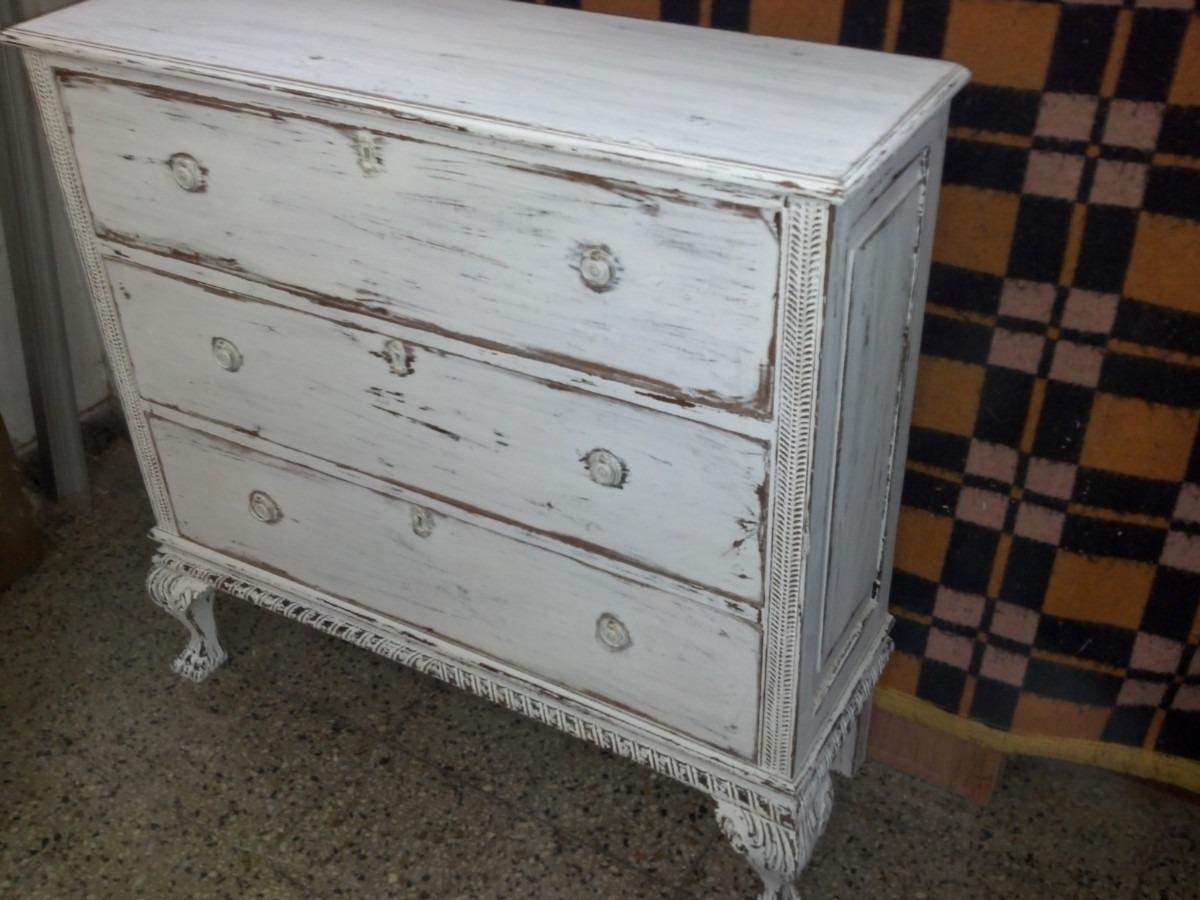 Muebles decapados en blanco trendy awesome image with - Muebles decapados en blanco ...