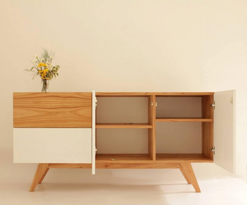 comoda diseño escandinavo madera paraiso - $ 12.160,00 en mercado ... - Muebles Diseno Nordico